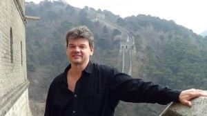 Mike Genung at the Great Wall