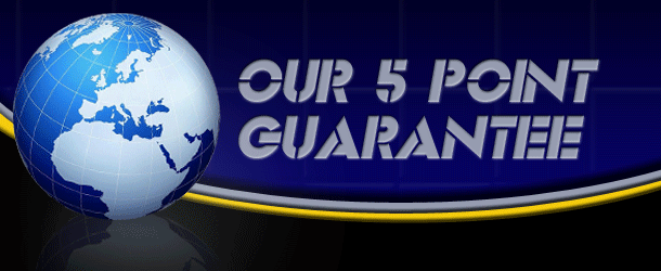 Our 5 Point Guarantee