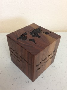 Wooden Cube,