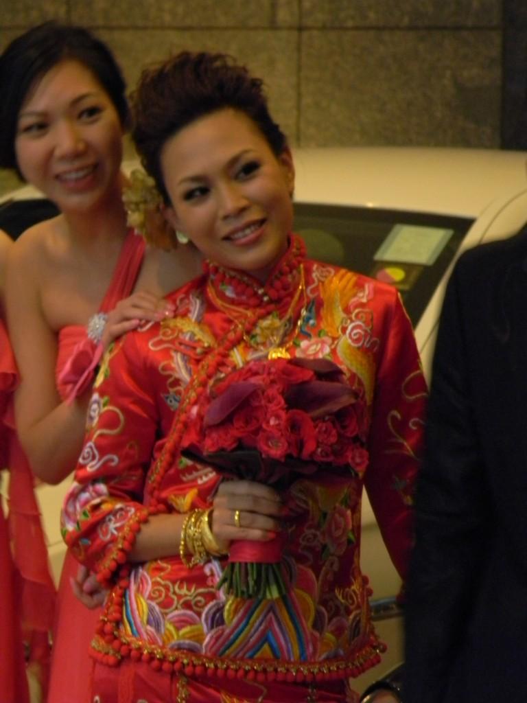 A Bride in Hong Kong
