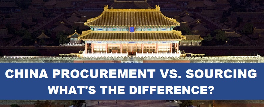 Difference Between China Procurement and Sourcing