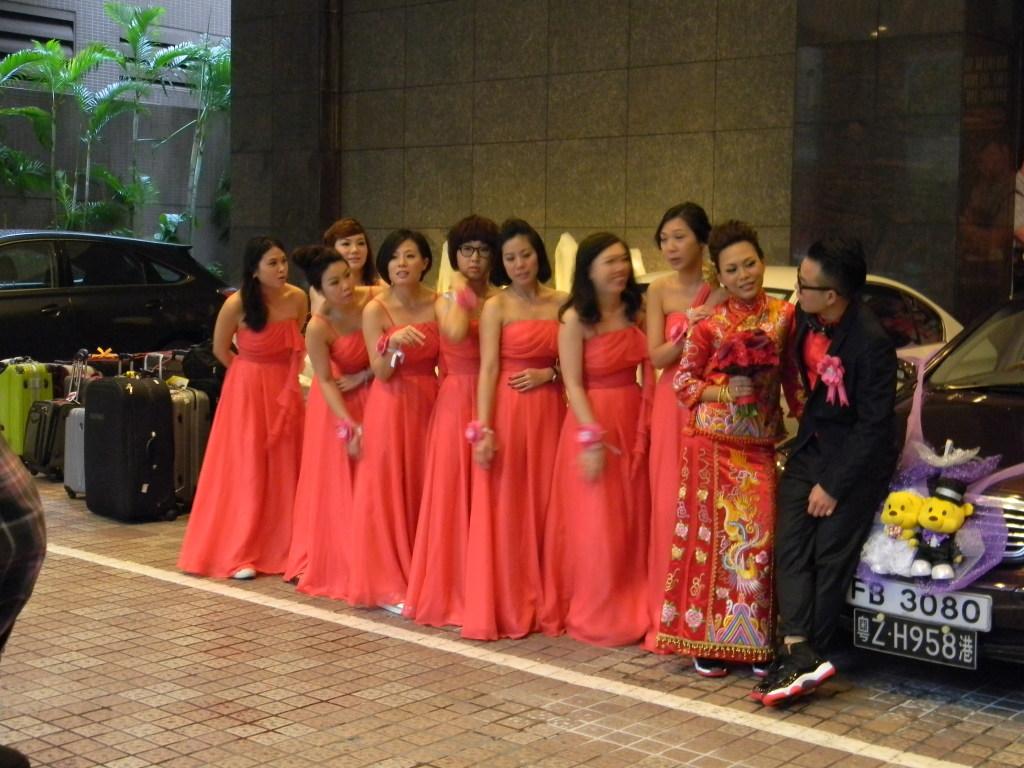 wedding in hk