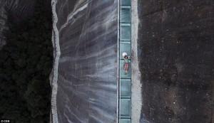 Wanfo walkway on cliff