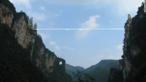 Zhangjiajie Grand Canyon Bridge