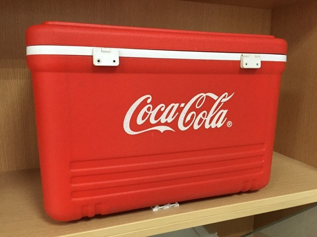One of the coolers they've made, with a little known brand.