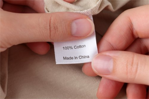 Made in China labelling
